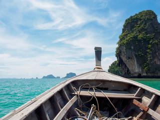 Boat in Krabi Thailand