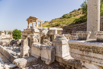 Ephesus, Turkey. Source of Emperor Trajan, 114 AD