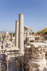 Ephesus, Turkey. Ruins on the Curets street