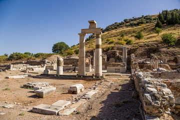 Archaeological site of Ephesus, Turkey. The Municipal palace