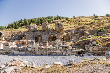 Ephesus, Turkey. Antique bath