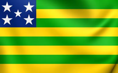Flag of Goias, Brazil.