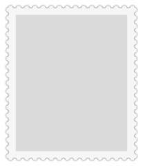 Briefmarkenvorlage, postage stamp template