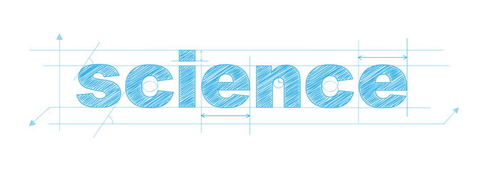 """""""SCIENCE"""" icon (scientific research experiment maths)"""