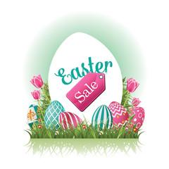Easter sale design EPS 10 vector