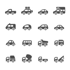 transportation and vehicle icon set 2,vector eps10