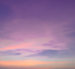 Abstract pastel sky background