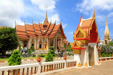 Foto op Canvas Temple temple Wat Chalong