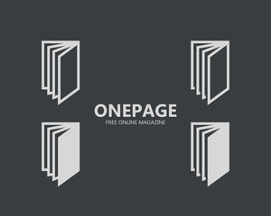 Business page logo or symbol icon