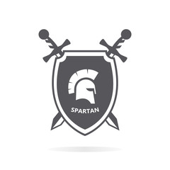 Spartacus heraldry logo design elements