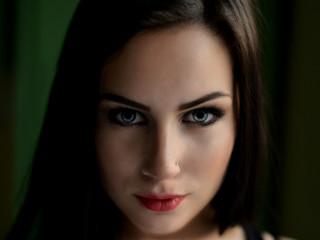 Beau visage de jeune femme
