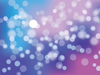 Bokeh abstract colorful light background