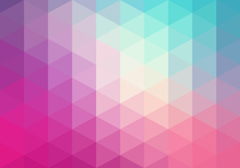 Abstract geometric background, triangles