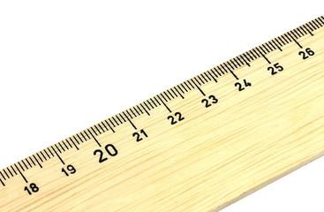 Holzlineal