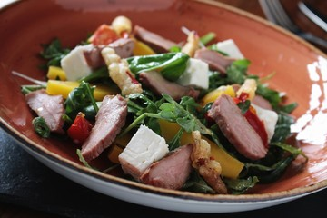 duck salad appetizer starter