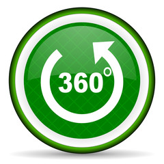 panorama green icon