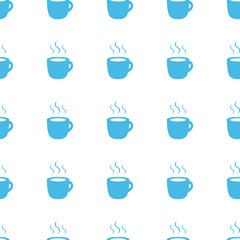 Unique Coffee seamless pattern