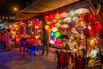 City of light in Hoi An ancient town