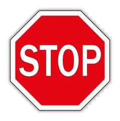 stop schild, stop sign