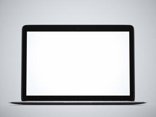Modern glossy laptop