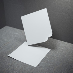 Square sheet of paper