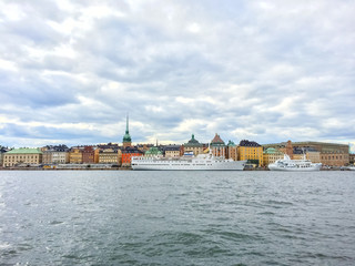 View over Gamla Stan, Stockholm