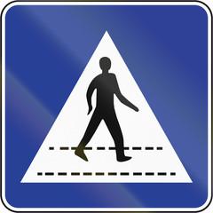 Pedestrian Crossing in Brunei