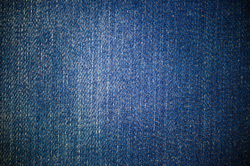 Close-up view of blue jeans background