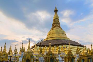 Shwe-dagon pagoda, Yangon, Myanmar