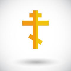 Cross  single icon.