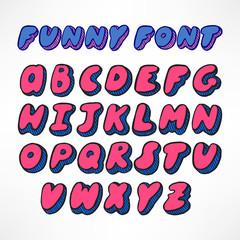 cute hand-drawn font