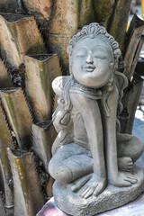 Stone Woman sculpture in literature of Thailand.