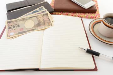 ノートと紙幣
