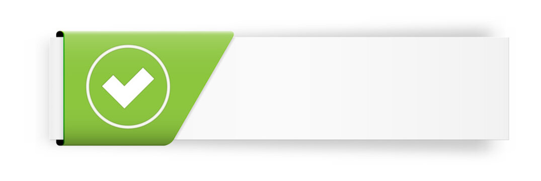 The accept button