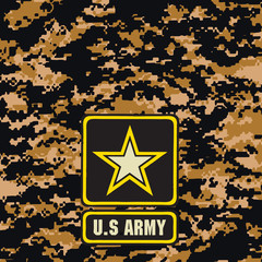 Dark brown army camouflage background