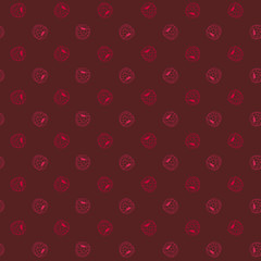 Simple Blackberry background. Plain Raspberry illustration.
