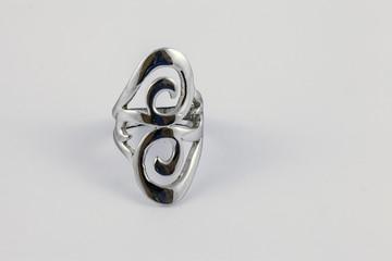 Gioielli, anello argento