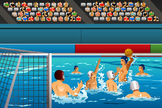 Water polo competition