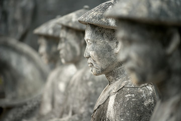 Tomb of Khai Dinh Guardians, Hue, Vietnam, Hue, Vietnam