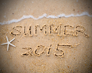 .Summer 2015 with Star fish
