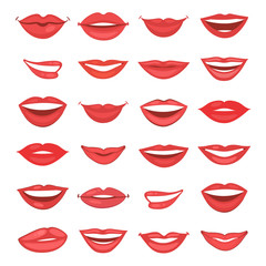 Beautiful lips collection