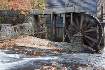 Fall grist mill