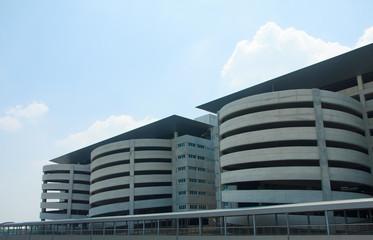 Multi-story Car Park - Stock Image