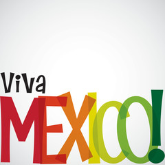 Bright typographic Cinco de Mayo card in vector format.