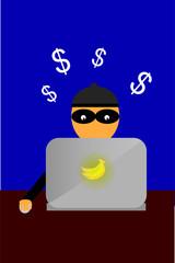 Illustration for cyber crime
