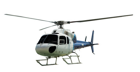 Printed kitchen splashbacks Helicopter Multi-engine helicopter with working propeller
