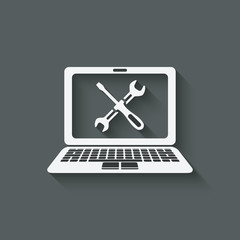 computer repairs symbol