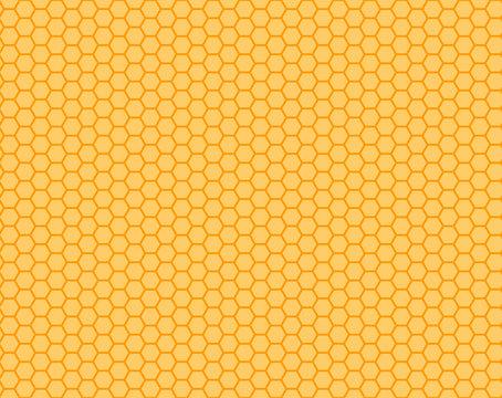 honeycomb orange and yellow  seamless