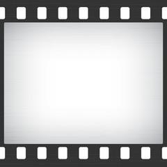 Scratched Old Film Stripe Frame