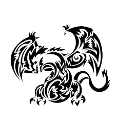 Dragon tatoo Tribal